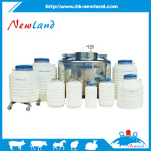 6 L Cryogenic Container Liquid Nitrogen Ln2 Tank with Straps and Carry Bag