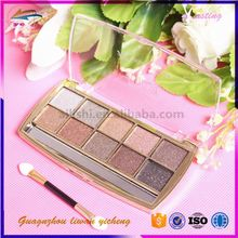 empty eyeshadow palette Waterproof eyeshadow guangzhou oem