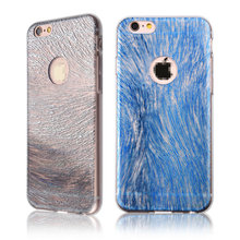 C&T Ultra Thin Clear Art Pattern Crystal Gel TPU Rubber Flexible Slim Skin Soft Case for Apple iPhone 6 4.7""