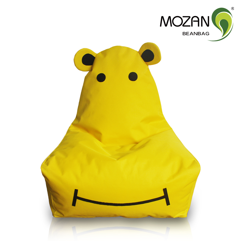 Funny animal shaped infant bean bag chair