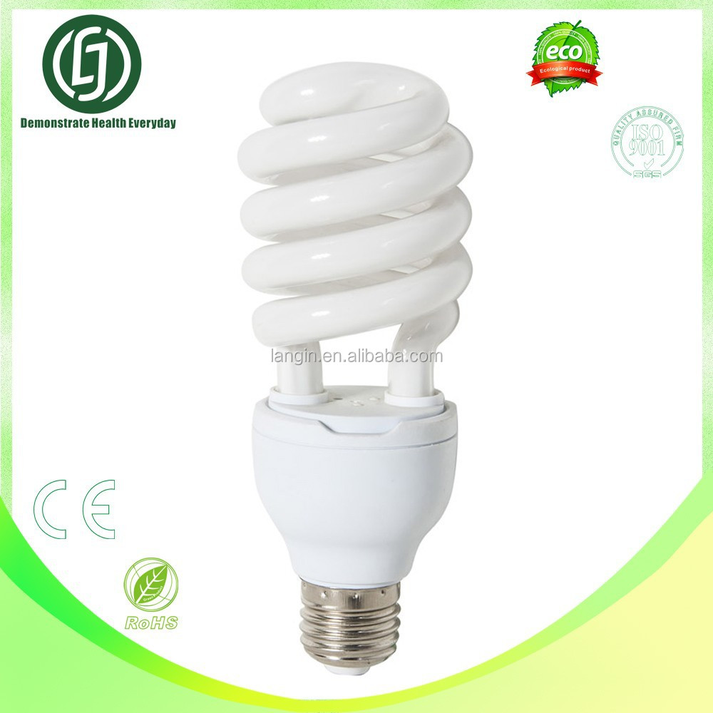 26w super bright 6500K/2700K Compact Fluorescent Light Bulb