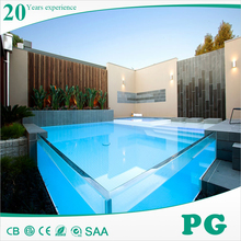 PG Custom Clear Acrylic Panels for Swimming Pool
