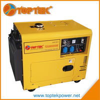 manufacturer 5kva single phase silent cheap diesel generator