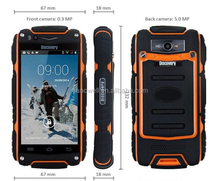 New product 2016 DISCOVERY V8+ Military Grade Rugged Smartphone <strong>mobile</strong> <strong>phone</strong> support shockproof