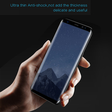 Ultra Clear Hydrophobic Oleophobic Self-adsorbed Film Anti Shock Freefron Screen Protector Roll for Samsung S8