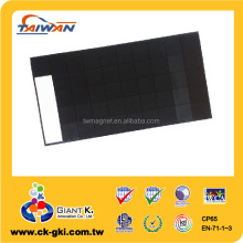 High quality 0.8mm rubber flexible custom cut magnet pieces