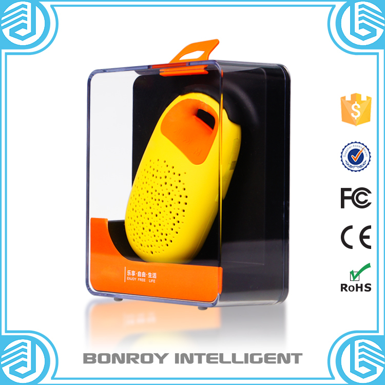 2015 Bonroy car accessories Mini bluetooth Speaker instruction Portable Speaker with usb charger Bluetooth for mobile