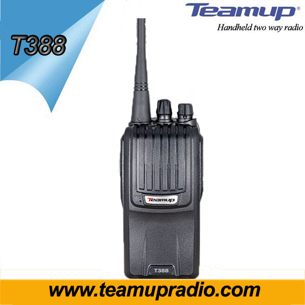 Hot sale 5 watts vhf uhf ham two way radio walkie talkie Teamup T388 walkie talkie
