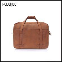 New fashion top crazy horse leather laptop bags for men