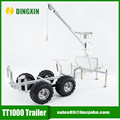 TT1000 tow behind 1T ATV timber Trailer CE certificated