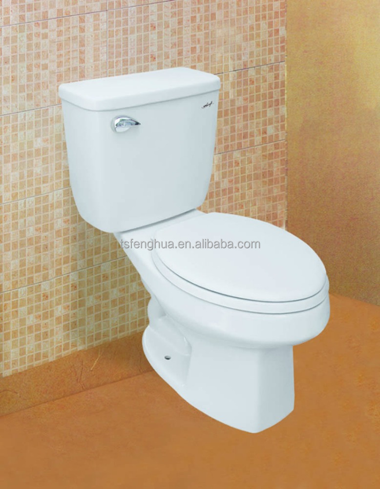 FH-C309L Siphonic Close-coupled Toilet Sanitary Ware WC Bathroom Design