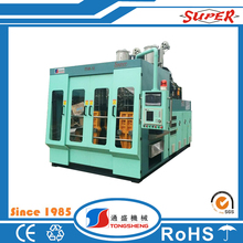 PC HDPE bottle Hydraulic extrusion plastic blow molding machine