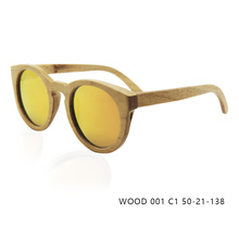 Fashion Design Wood Sunglasses