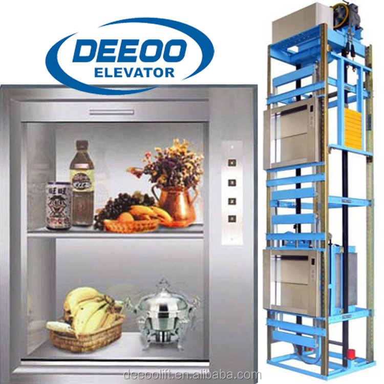 elevator food dumbwaiter elevator use high technology , kitchen cabinet elevator