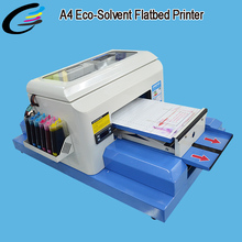 Best Buy Digital Small A4 ECO Solvent Flatbed Printer for Phone Case Printing Machine