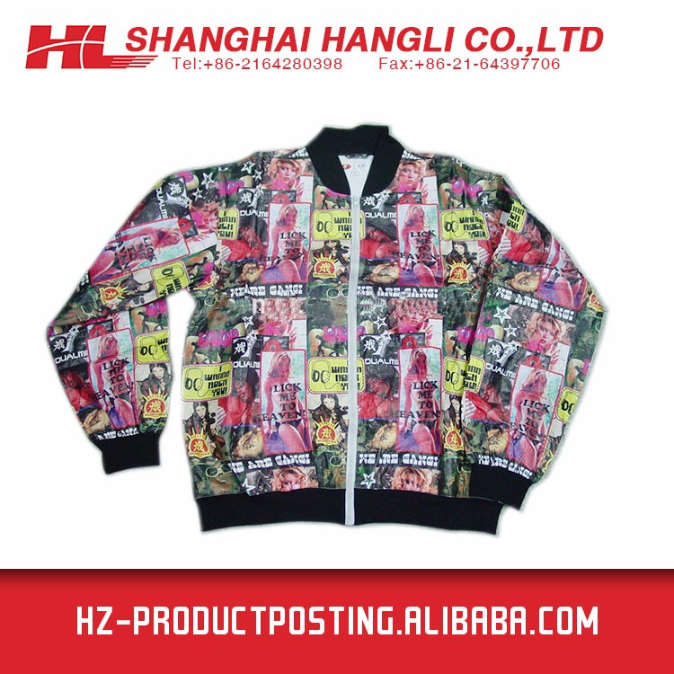 Fancy Design Windbreaker Jacket