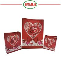 Customized cusotm made plastic gift bag in top printing effect gift bag air bubble plastic packing bag for protective