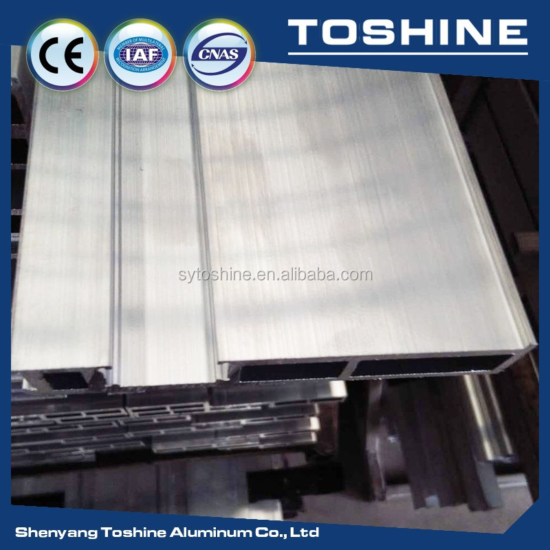 Silver anodized Electrophoresis Coating aluminum extrusion profile for the caravan window