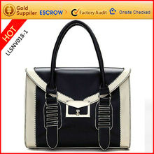 Mature pu lady bag 2012 hot stamp logo free
