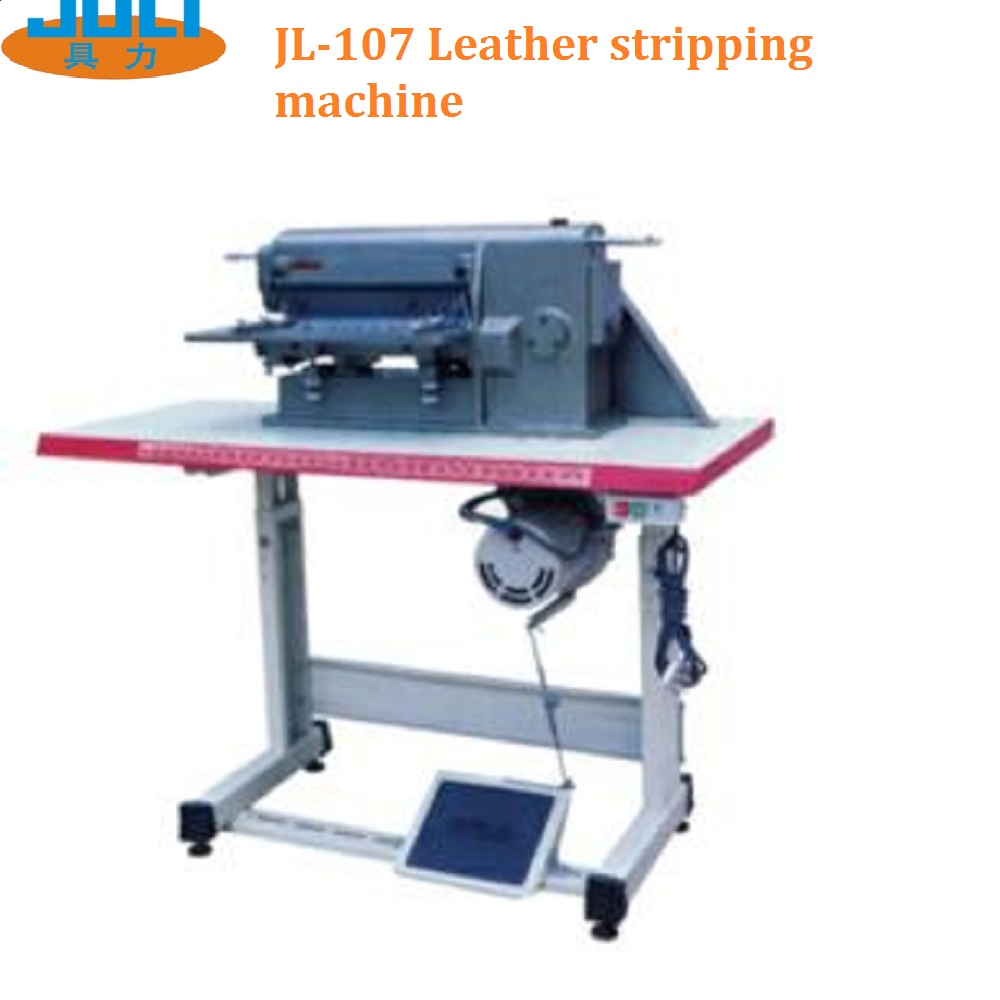 JL-107 Leather stripping machine that small leather splitting machines