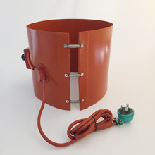 200L Oil Drum Silicone Heater with Temperature Controller