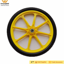 20x1.75 plastic spoke punture proof handtruck big wheel