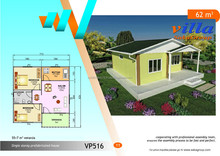 prefabricated and steel stracture villa