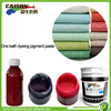Water based pigment ink paste for fabric clean dyeing