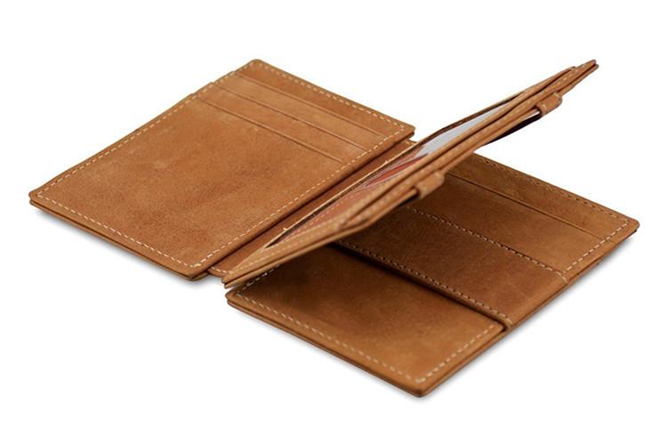 Handmade business personalized designer slim best trifold card holder mens leather wallets for men