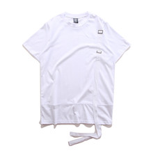 Custom High Quality Plain White T Shirts Cotton Solid Color Blank Tape T Shirt with wholesale price