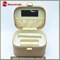 High Quality Popular professional makeup box trolley case with lights