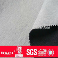 Waterproof cationic fabric 100% Polyester+100% polyester vwhite fleece 325 GSM bonding fabric