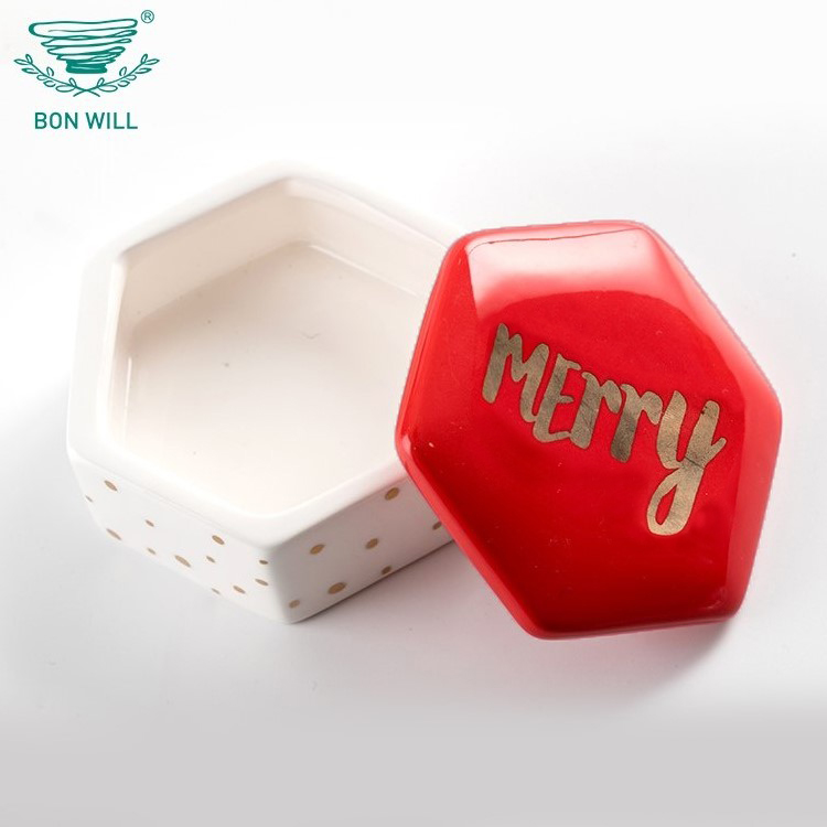 Wholesale high quality cheap wedding favors and gifts ceramic jewelry trinket box with lid