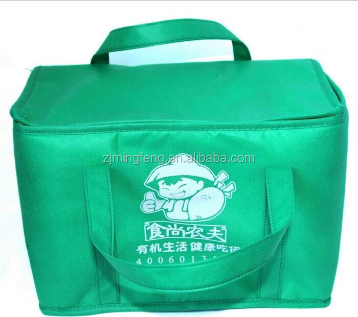 cooler bag/ lunch cooler bag with durable hard liner/ ice pack