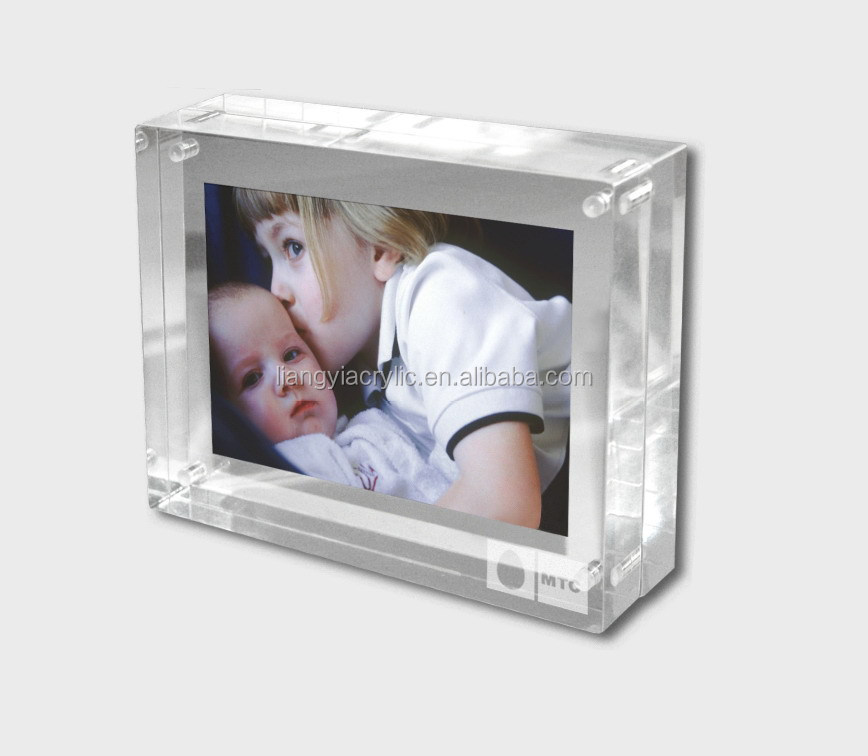 Portable mini acrylic photo frame supplier