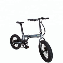 20 inch Fat Tire Electric Bike Beach Snow Bicycle with 7 speed