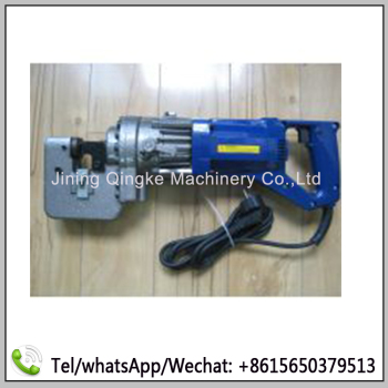 manual channel steel punching machine electric punch and shears