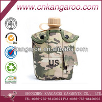 Army water bottle with aluminium lunch box