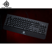 New arrive led backlight shenzhen keyboard gaming with ergonomic design