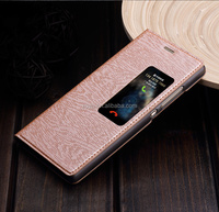 original sales for brand new for huawei P8, leather case for huawei P8