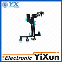 EXW OEM case with gorilla audio flex cable for iphone 5s 5s Accept paypal