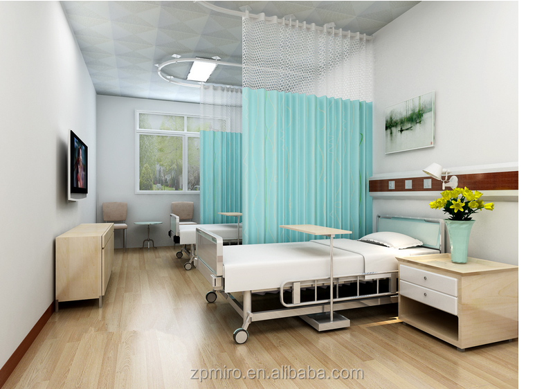 Hot selling wholesale medical disposable curtain hospital private curtain of solid color