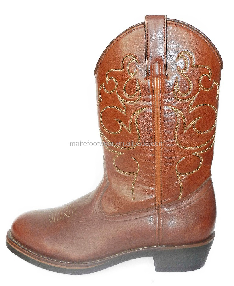 Western Style Cowboy boots mexican cowboy boots