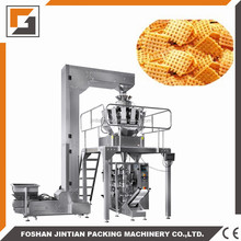 JT-420W automatic solid food bag packing machine /corn flakes packaging machine / popcorn bag packing machine