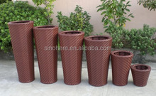 Outdoor Rattan Garden Stool AK2001