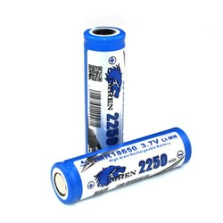 imren 1865 40a 2250mah li-ion battery,rechargeable battery ,3.7v li-ion battery
