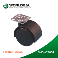 WD-C7001 popular in world market plate type office or furniture omega caster