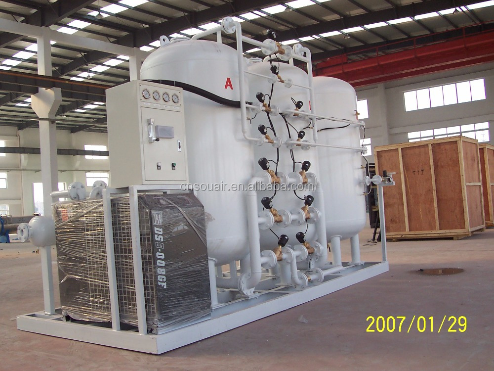 Psa oxygen plant 20nm3 h 150bar hot sales buy oxygen for Oxygen plant