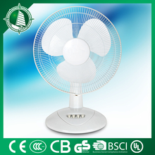 16'' rechargeable table new cordless fan with led light