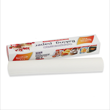 Kraft material greaseproof non-stick silicone paper